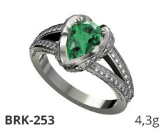 BRK-253-1 White_Emerald-Diamond.jpg146.jpg